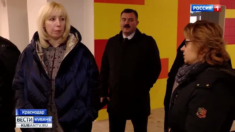 В краснодарском микрорайоне Московском почти завершено строительство школы