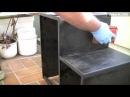 Heimwerker Tipp Anleitung Hocker Stuhl selber bauen und hochglanz lackieren aus MDF Platten