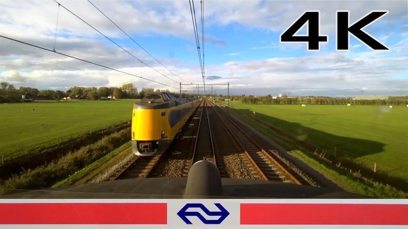 4K CABVIEW HOLLAND Zwolle - Groningen Europapark ICM 2018