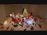 Как чудят коты. Лучшая реклама кошачьего корма | Christmas Cat Temptations Commercial