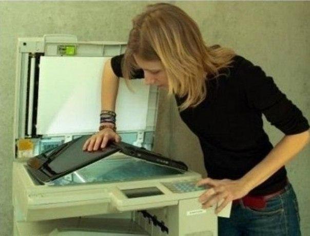 Ксерокс ноутбука