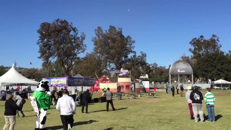 Tornado at the Rose Bowl