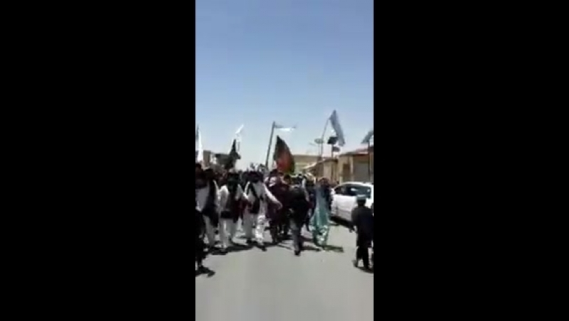 The Real Peace March - Afghanistan EidulFitr Ceasefire