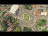 Tuzla city center aerial tour - Griffin studio