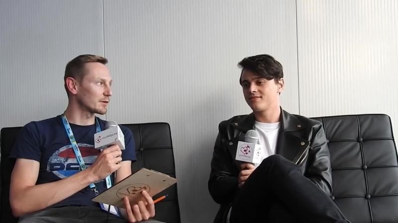 ALEKSEEV / Интервью для Eurowizja.org, Лиссабон (29.04.18)