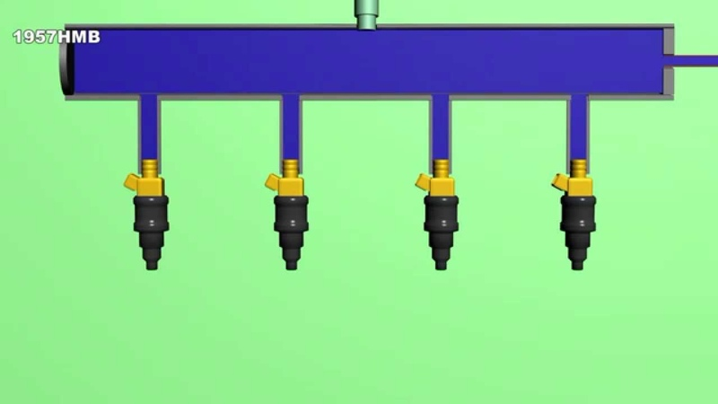 принцип работы системы питания инжекторного двигателя