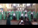 Хор Мелодия - Sanctus Benedictus (J. Rheinberger from Missa A-dur). Венгрия