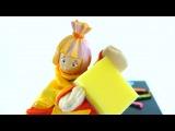 Фиксики мультфильм из игрушек и книжек - Маша и Симка