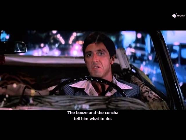 Scarface - The Eyes, Chico, They Never Lie.