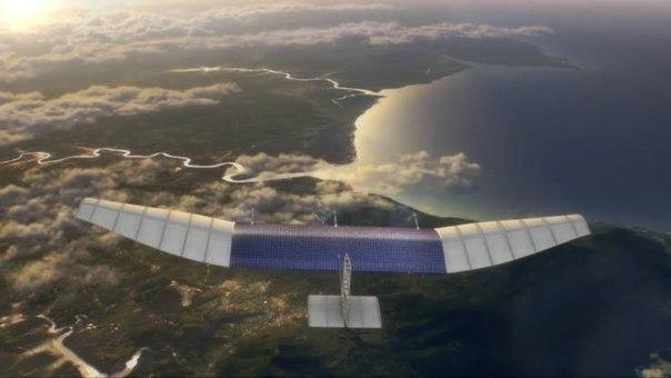 Летающие дроны обеспечат интернетом самые затаенные уголки мира