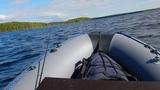 Profmarine 390, HDX 9.9 Онежское озеро. Волна