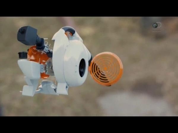 Воздуходувка Stihl ( Как работают машины )