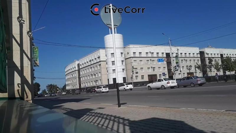 Стрим с места нападения на сотрудников ГИБДД в Грозном