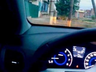 Хундай Солярис (Hyundai Solaris) Заводится с кнопки