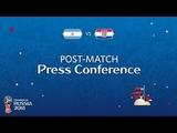 FIFA World Cup 2018 Argentina v. Croatia - Post-Match Press Conference