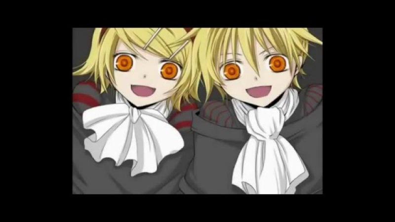 Вокалоиды Vocaloids trick and treat Кагамине Лен и Рин Kagamine Rin amp Len trick and treat
