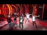 Big Bang - Intro (Alive) + Blue + Bad Boy + Fantastic Baby SBS Inkigayo 120311