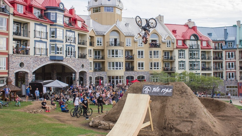 Dirt MTB: 2018 Double Trouble Dirt Jumping Demo at Crossroads Tremblant - The Rise MTB