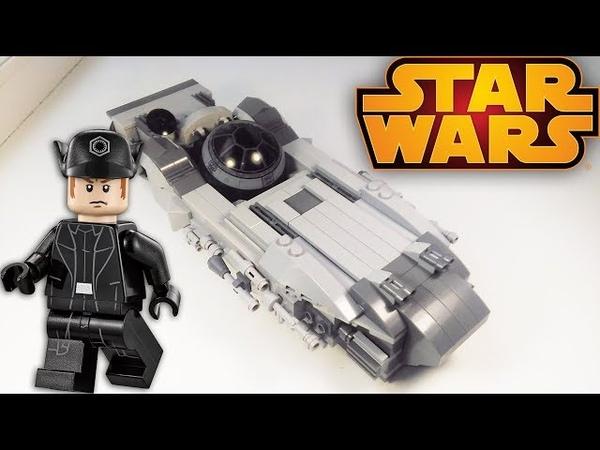 ЛЕГО САМОДЕЛКА ЗВЕЗДОЛЁТ / Lego StarWars moc / Руспан