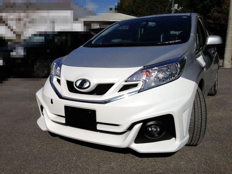 Предпокрасочный вариант Nissan Note Impul 2013.