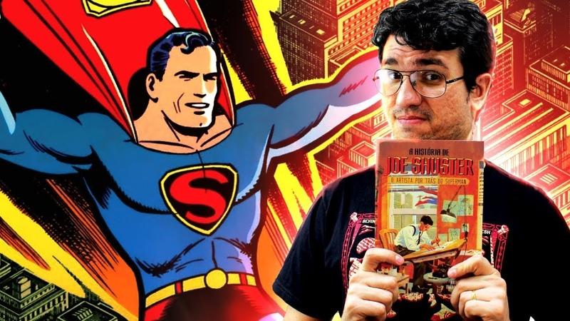 A TRISTE história por trás da criação do SUPERMAN | Pipoca e Nanquim 331