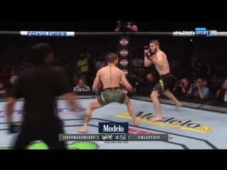 Khabib Nurmagomedov vs Conor McGregor. Хабиб Нурмагомедов - Конор Макгрегор. UFC 229. ММА. Highlights.