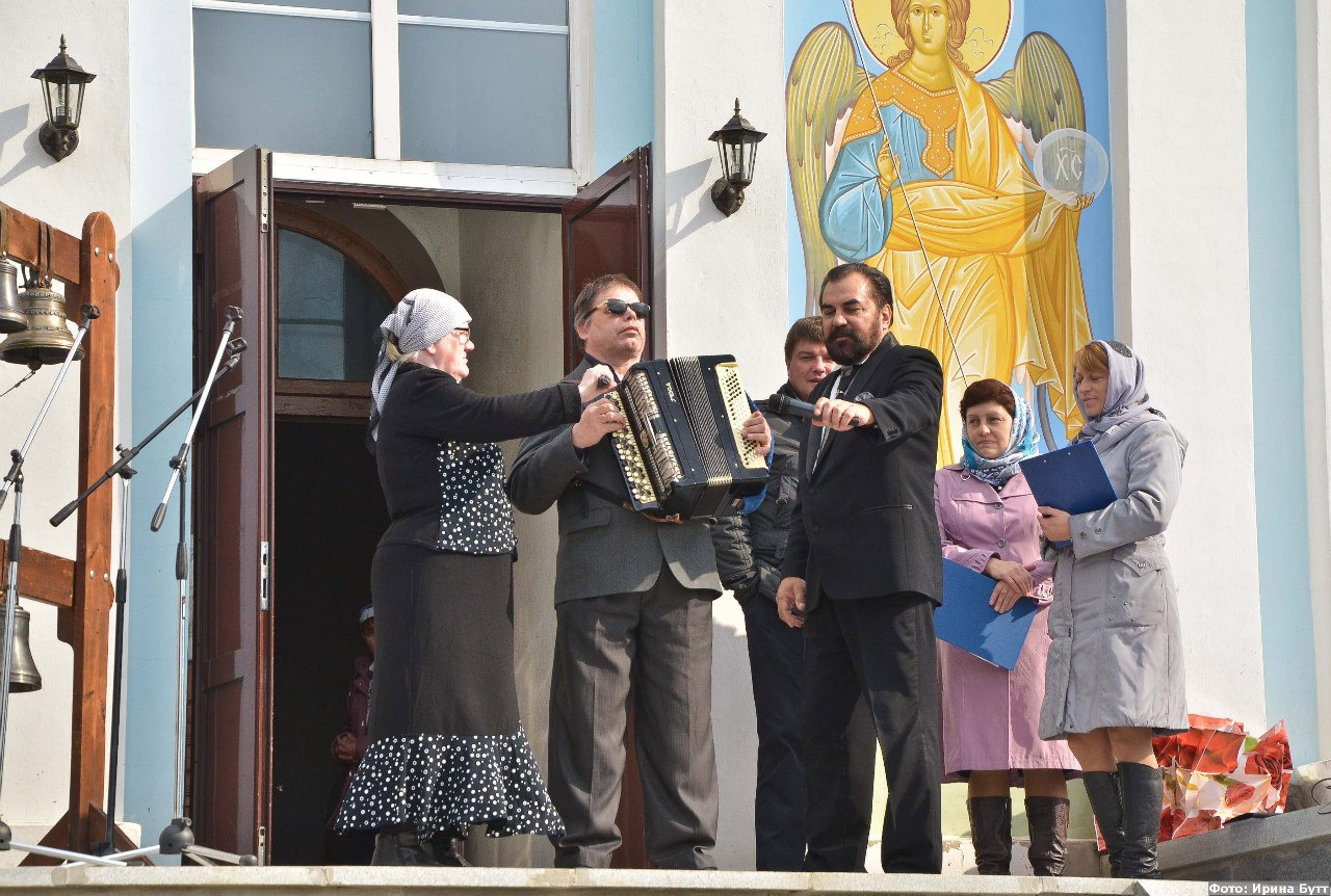 Мария и Леонид Лютиковы (гости) (03.10.2014)