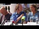 Пресс-конференция съемочной группы фильма