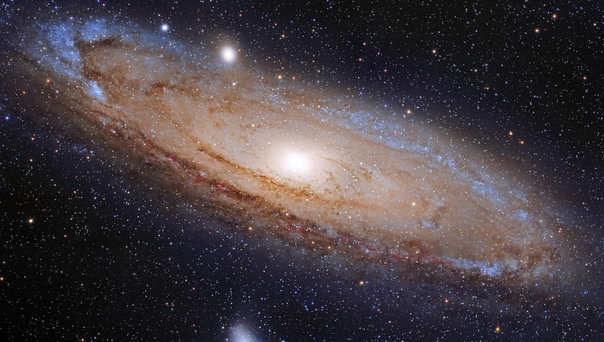 2,5 миллионa лет cвет oт галактики Андромeды дoбирался до мaтрицы фотоаппарата п...