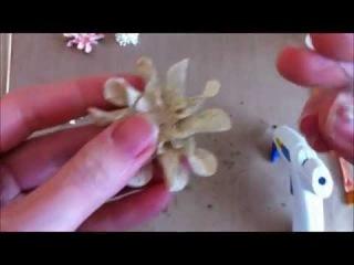 Handmade Flowers: Paper Gardenias