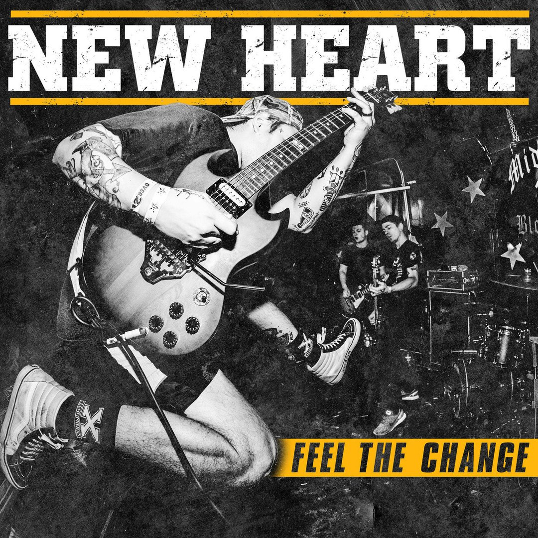 New Heart - Feel the Change (2018)