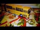 автобус пассажирский Икарус 280.33 цвет жёлтый масштаб 143