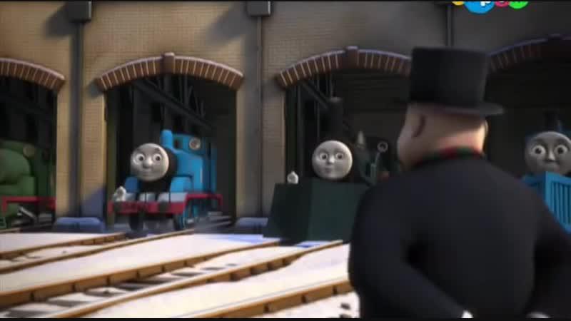 Томас и его друзья Первый снег для Томаса