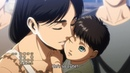Commandant Sadies being rude to Eren's mother - Shingeki no Kyojin Season 3 Episode 11