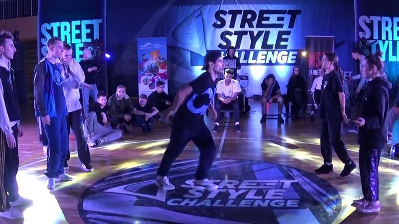 Street Style Challenge Battle 2019 - Hip-hop PRO 3 vs 3 - 1/2 FINAL