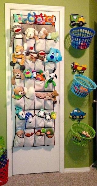 Органайзер для детских игрушек.