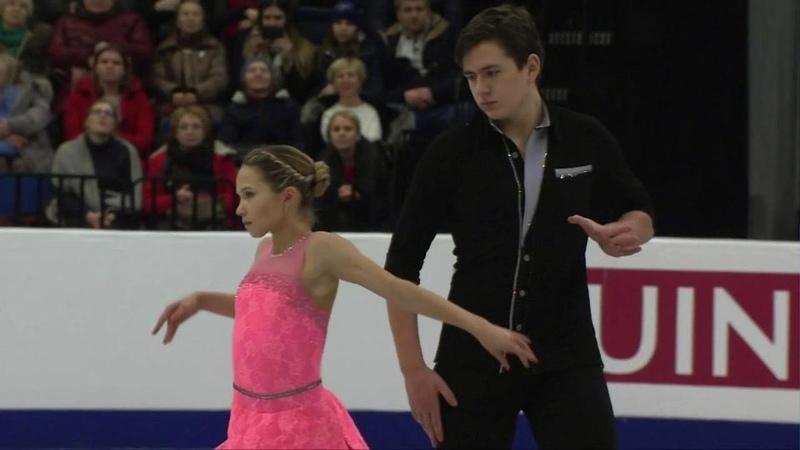 Дарья Павлюченко и Денис Ходыкин. Чемпионат Европы 2019. ПП