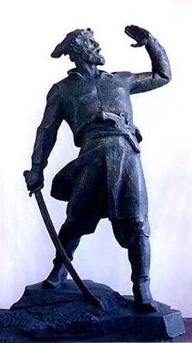 Годовщина гибели казачьего национального героя Кондратия Булавина YK6RSu-82sQ