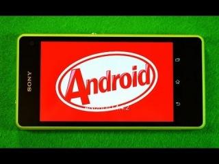 Обзор Android 4.4.2 KitKat для Sony Xperia Z1 Compact, Z Ultra, Z1, Z, ZR, ZL