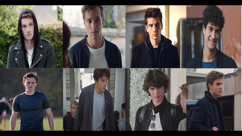 William x Charles x Alexander x Edoardo x Daniel x Noah x Alejandro x Senne's 1st appearance Skam