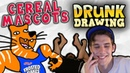 DRUNK DRAWING CEREAL MASCOTS