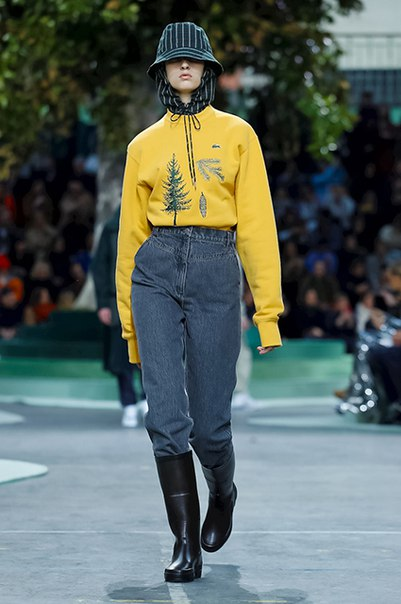 #News Неделя моды в Париже: показы Lacoste и Maison Margiela сезона осень-зима 2018/2019