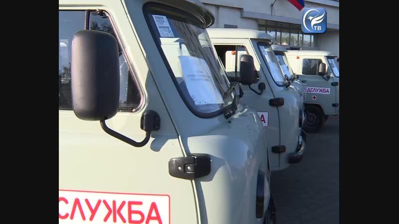 К 2022 году все 117 опорных ФАПов Вологодчины будут обеспечены санитарными автомобилями