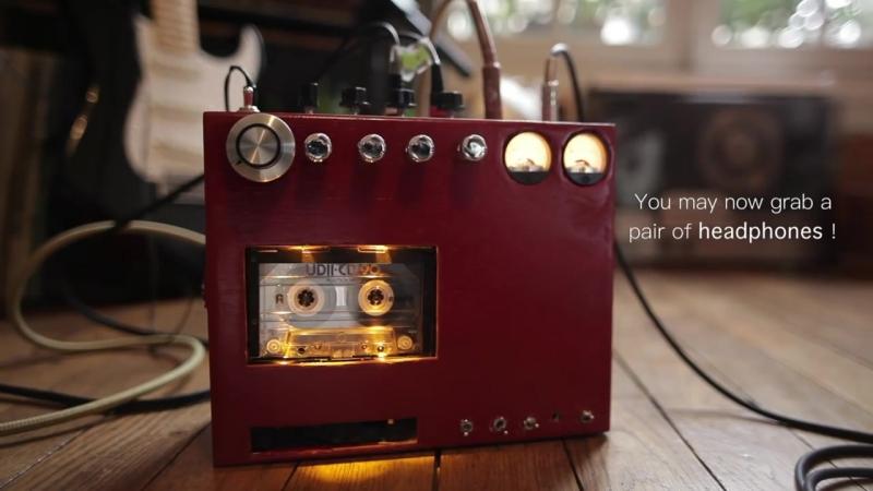 DIY cassette tape delay _ echo (stereo)