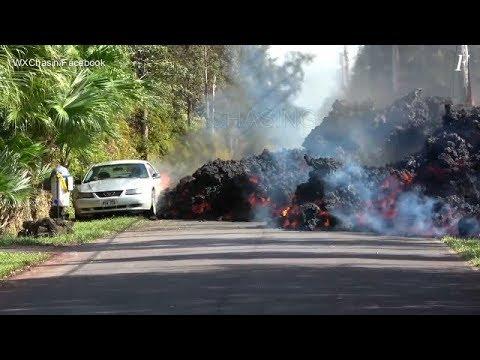 Трещинное извержение вулкана Килауэа, Гавайи | Volcano Kilauea eruption, may 2018