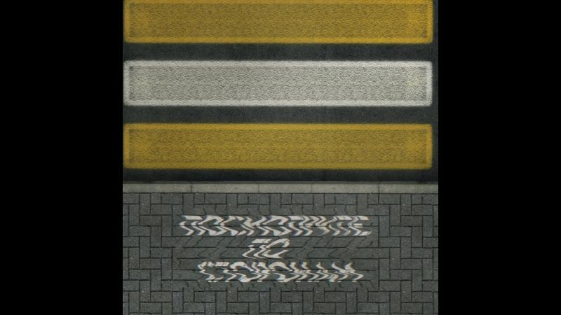асфальт-граффити для безопасности пешеходных переходов