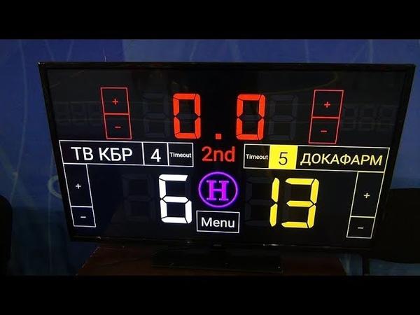 Чемпионат КБР по мини-футболу 201819. ПД. 1 тур. ТВ КБР - ДОКАФАРМ. 2 тайм