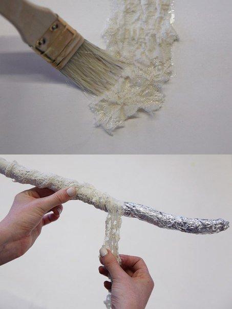 Как сделать декоративный костер