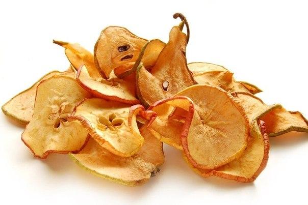Про сушеные яблоки (1 фото) - картинка