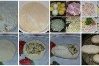 Пирожки жареные из нежного и воздушного дрожжевого